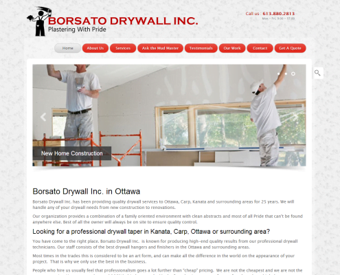 Freelance Web Design - Ottawa